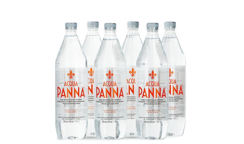 Ящик воды Acqua Panna 1 л