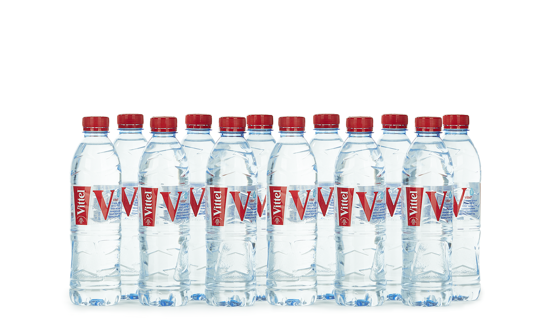 Ящик воды Vittel 0.5 л