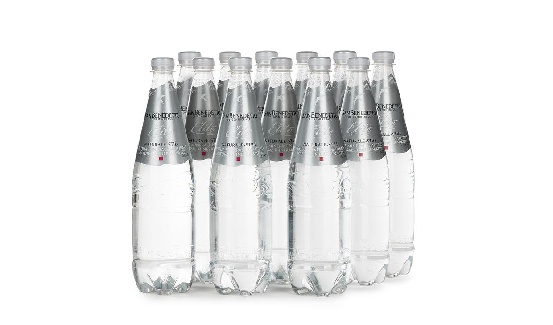 Дюжина бутылок воды San Benedetto Still 1 л